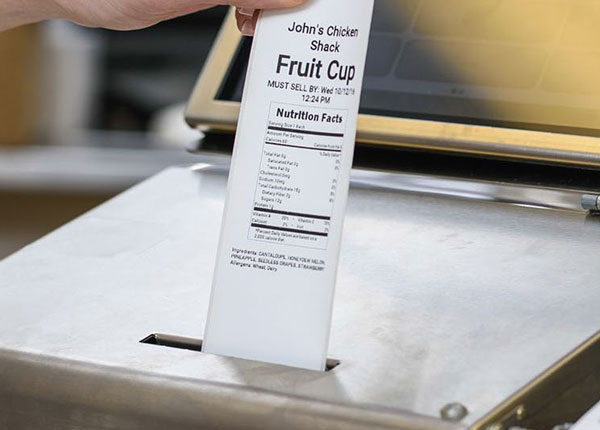 Food Labeling System