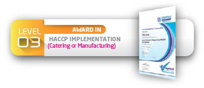 Level 3 Award in HACCP Implementation - Specifico & Co